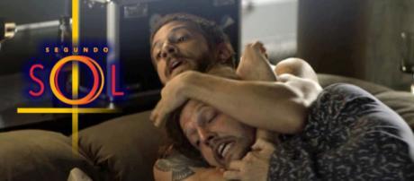 Remy tenta agarrar Luzia, mas Ícaro chega e o impede