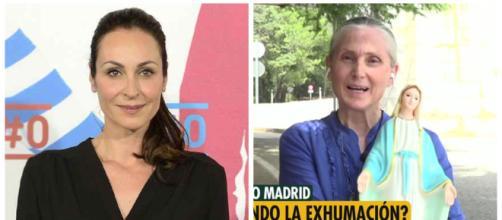 Ana Milán y la interante de 'Movimento por España'