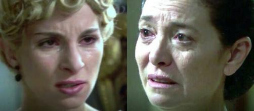 Anticipazioni Una Vita: Cayetana disprezza per l'ennesima volta la madre Fabiana