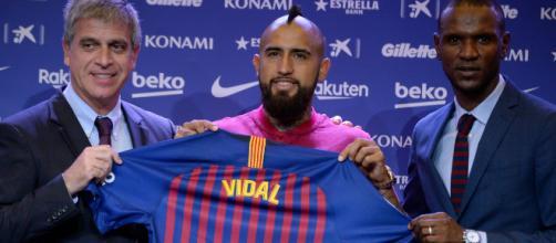 Con el fichaje del chileno Arturo Vidal, el Barcelona suma 18 extranjeros en su plantilla.