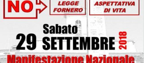 Manifestazione nazionale a Roma, sabato 29 settembre