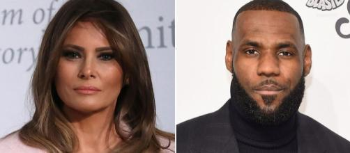 Melania Trump a une fois de plus contredit son mari, cette fois-ci concernant LeBron James