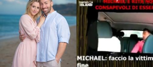 Temptation Island, Michael e Lara si sono lasciati, lui sente la tentatrice Rita