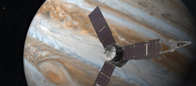 Descubren 12 nuevas lunas gravitando alrededor del planeta Júpiter