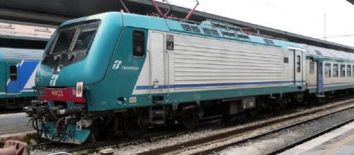 Annuncio shock a bordo del treno