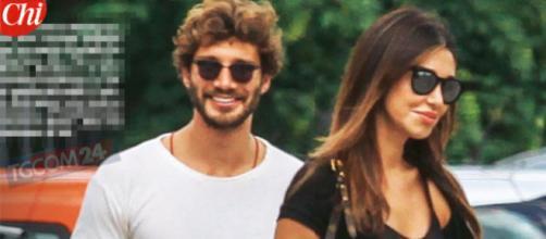 Belen e Stefano in vacanza ad Ibiza