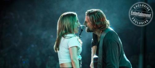 Lady Gaga y Bradley Cooper actúan en Ha nacido una estrella