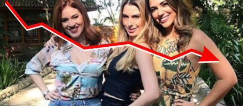 Fernanda, Ana Clara e Vivian fracassam na apresentação do Vídeo Show
