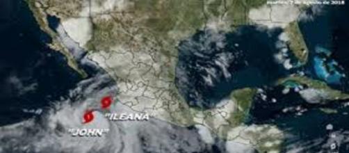 Jhon pasó a huracan categoria 4 este 7 de agosto