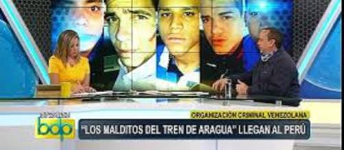 Peligrosos delincuentes pertenecientes a la banda el tren de Aragua capturados en Perú