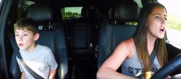 Jenelle Evans and Jace are seen on 'Teen Mom 2.' - [MTV / YouTube screencap]