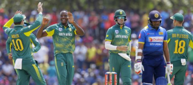Sri Lanka Vs South Africa live streaming on Sony Ten 3 (Image via Sri Lanka Cricket Twitter)