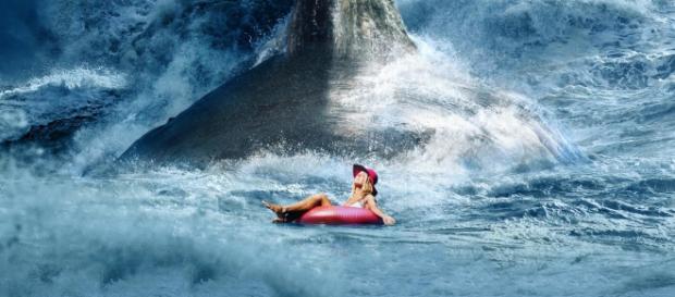 The Meg posee increíbles escenas acuáticas