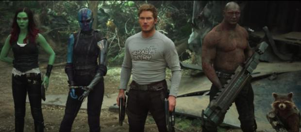 The third 'Guardians of the Galaxy' film still needs a director and possibly a script. - [Jimmy Kimmel Live / YouTube screencap]