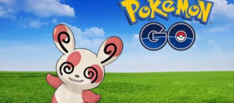 How to capture Pokemon Spinda during the Field Research quest. Image Credit: Liam Martin / Express