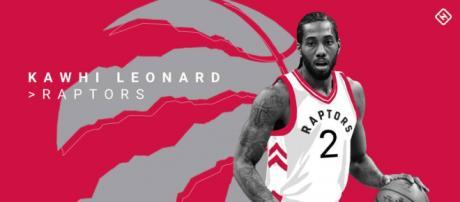 Kawhi Leonard is set for his debut season with the Toronto Raptors [Image Source: Sporting News - YouTube]