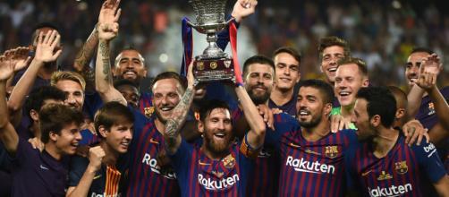 FC Barcelona se corona en la Supercopa de España