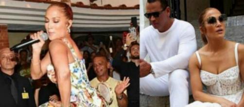 Jennifer Lopez si scatena all'Anema e Core di Capri. Blasting News