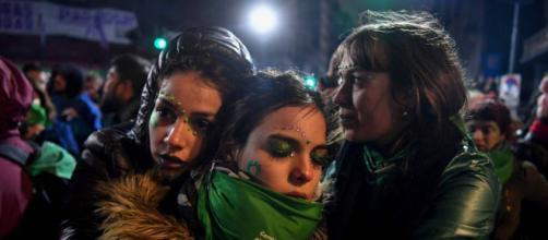 La delusione di alcune donne argentine