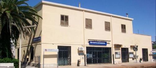 La stazione ferroviaria di Brancaleone, in provincia di Reggio Calabria.