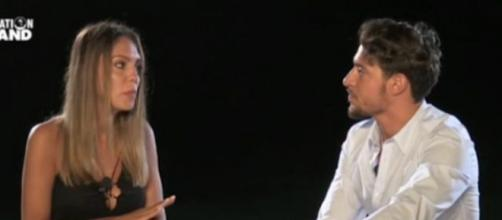 Martina e Gianpaolo, nuovo scontro social