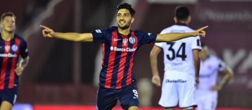 Nicolás Blandi tem negociações avançadas com o Santos