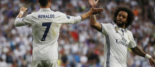 Ronaldo e Marcelo con la maglia del Real Madrid (via Google.it)