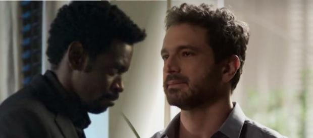 Edgar pede demissão e avisa ao irmão que não irá vender a alma