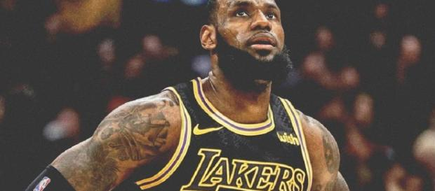 Photo of LeBron in a Laker uniform. - [lakers24ever / Instagram]