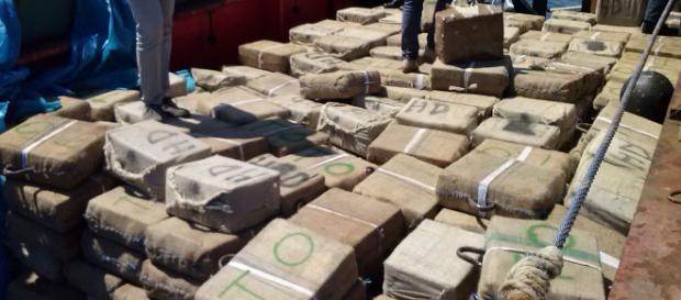 20 tonnellate di hashish a Palermo