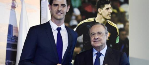 Real Madrid presenta a Courtois como su nuevo arquero
