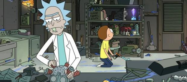 'Rick and Morty' Helmet Fan Theory (Image Credit: | Rick and Morty/Adult Swim screencap)