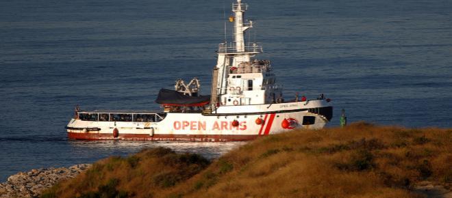 ALGECIRAS/ 87 migrantes han llegado a bordo del Open Arms