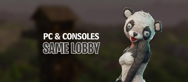 Epic Games will put Fortnite console players in the same lobby with PC players