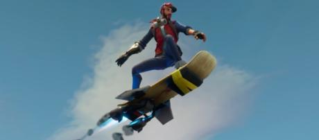 Fortnite Battle Royale is improving mobility. [Image Source: In-game screenshot - Author]