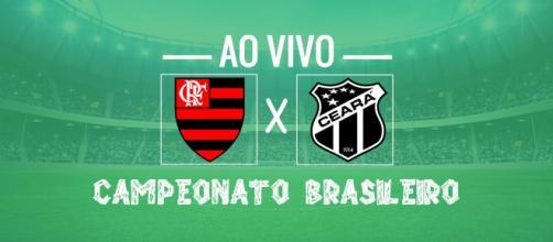 Campeonato Brasileiro: Flamengo x Ceará ao vivo