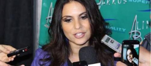 Cantora gospel, Aline Barros em entrevista