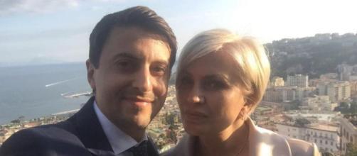 Eugeniu Babin e Natasha Yelina sono sopravvissuti al crollo del ponte di Genova (qui in una foto social prima della tragedia): presto le nozze.