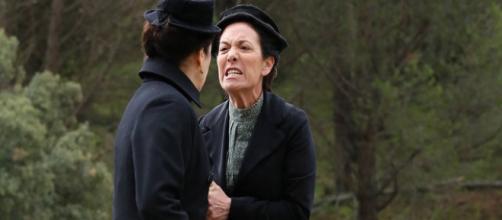 Una Vita: Fabiana accusa Ursula della morte di Cayetana