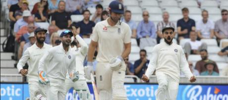 India vs England,5 th Test Day 3 Stumps (Image via ICC/Twitter)
