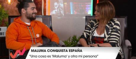Maluma fue entrevistado por Toñi Moreno en el programa Viva la vida
