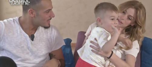 Aldo e Alessia insulti contro i figli