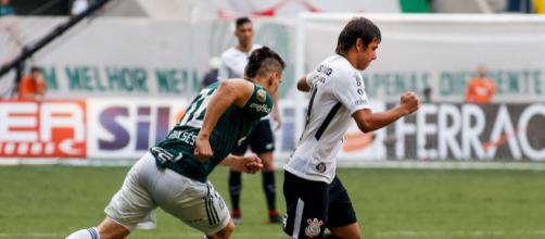 Corinthians perde para o Palmeiras em jogo do Brasileirão