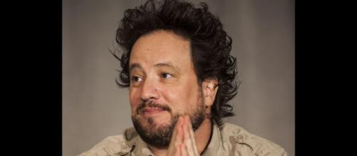 Executive producer Kevin Burns teased the fans about Giorgio Tsoukalos (pictured)... image earnthenecklace.com