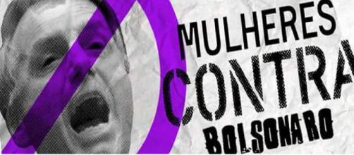 Grupo 'Mulheres Unidas Contra Bolsonaro' publica carta rebatendo o fascismo.
