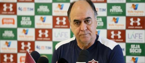 Marcelo Oliveira acredita em G-6 para o Fluminense e critica estado do gramado do Maracanã (Foto: Uol Esporte)