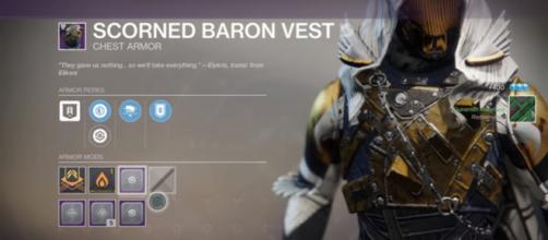 Destiny 2: Guardians are getting mods and gear using the Baron