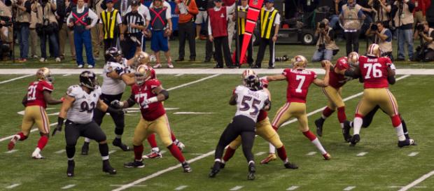 Colin Kaepernick, despite not playing, continues to dominate headlines. [Image Source: Austin Kirk - Flickr]