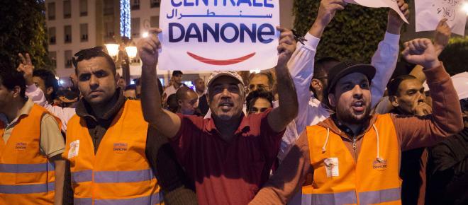 Danone boycotté au Maroc, s'installe à Rueil Malmaison