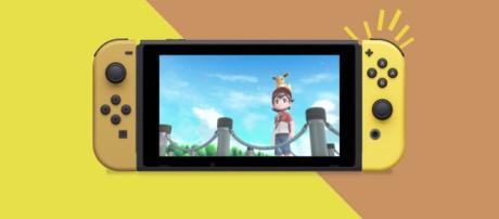 Nintendo announced Pokemon: Let's Go themed Switch. [image Credit: Nintendo UK/YouTube screenshot]